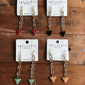 New Influence Stone Earrings